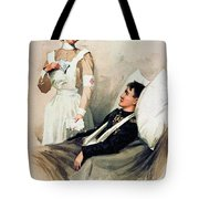 Nurse: Calendar, 1899 Tote Bag
