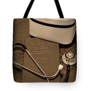Nurse - The Care Giver Tote Bag