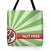 Nut Free Banner Tote Bag