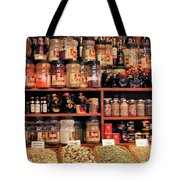 Nut Shop Tote Bag