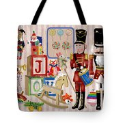 Nutcracker And Friends Tote Bag