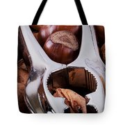 Nutcracker With Nuts Closeup Tote Bag