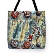 Nuts And Rivets  Tote Bag