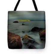 Nuttall Island Last Sunlight Tote Bag