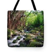 Banyan Nuuanu Stream Tote Bag