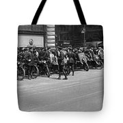 Ny Armored Motorcycle Squad  Tote Bag