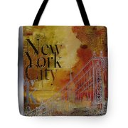 Ny City Collage - 6 Tote Bag