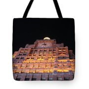 Ny Clock Tower Tote Bag