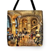 Ny Library Foyer Tote Bag