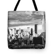 Ny Skyline Light And Shadows Tote Bag