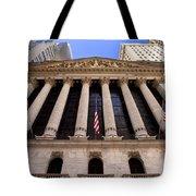 Ny Stock Exchange Tote Bag
