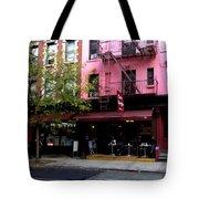 Ny Streets - Cafe Borgia II Soho Tote Bag