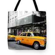 Ny Streets - Yellow Cabs 1 Tote Bag