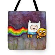 Nyan Time Tote Bag