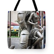 Nyc - Manhattan - Rockefeller Center - First Human Maiden Made F Tote Bag