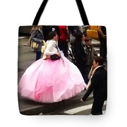 Nyc Ball Gown Walk Tote Bag