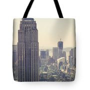 Nyc - Empire State Building Tote Bag