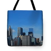 Nyc Financial District Tote Bag