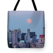 Nyc Pastel Supermoon Tote Bag