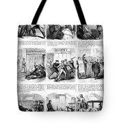 Nyc Police, 1859 Tote Bag