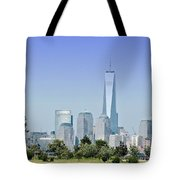 Nyc Skyline From The Park - Image 1666-01 Tote Bag