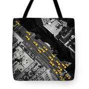 Nyc Taxi Tote Bag
