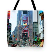 New York City Times Square Tote Bag