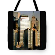 Nyc - Tower Jungle Tote Bag