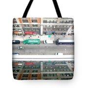Nyc Urban Reflection Tote Bag