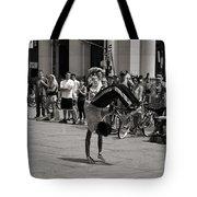 Nycity Street Performer Tote Bag