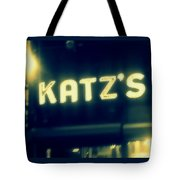 Nyc's Famous Katz's Deli Tote Bag