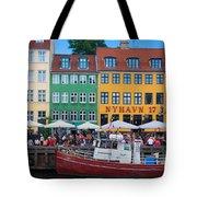 Nyhavn 17 Tote Bag