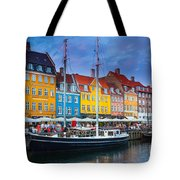 Nyhavn Canal Tote Bag