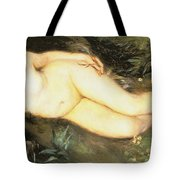 Nymph At The Stream Tote Bag