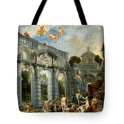 Nymphs At The Fountain Of Love Tote Bag