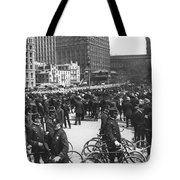 Nypd Bicycle Force Tote Bag