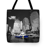 Nypd Blue  Tote Bag by Rob Hawkins
