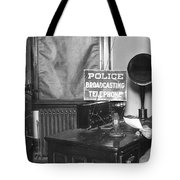 Nypd Radio Station, Wlaw Tote Bag