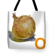 O Art Alphabet For Kids Room Tote Bag