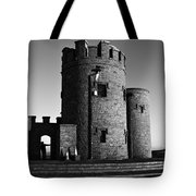 Briens Tower At The Cliffs Of Moher Tote Bag