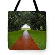Oak Alley Path Tote Bag