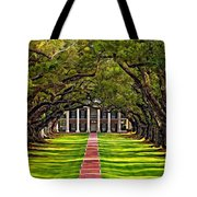Oak Alley Tote Bag by Steve Harrington