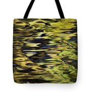 Oak And Maple Trees Reflections In Tote Bag