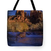 Oak Creek Crossing Sedona Arizona Tote Bag