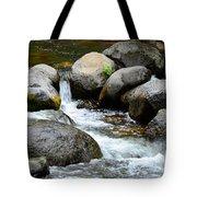 Oak Creek Water And Rocks Tote Bag