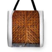 Oak Double Door Tote Bag