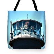Oak Island Lighthouse Beacon Lights Tote Bag