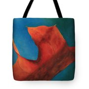 Oak Leaf Oil Painting Tote Bag