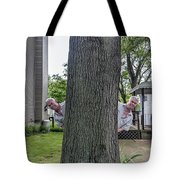 Oak Twins Tote Bag