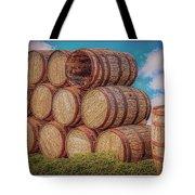 Oak Wine Barrels Tote Bag